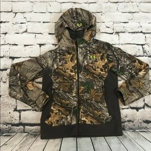 Under Armour Real Tree Jacket Hoodie Sherpa Lined